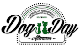 Dog Day Afternoon Grooming Logo